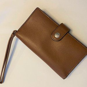 NWOT Coach Wallet / Phone Clutch / Wristlet